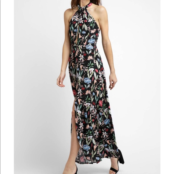 Anthropologie Dresses & Skirts - BRAND NEW WILLOW & CLAY HALTER FLORAL DRESS